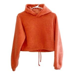 Wild Fable Fleece Pink Sherpa Hoodie Sweatshirt